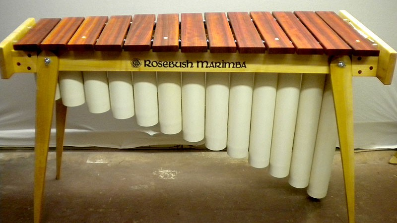 Complete line of Diatonic Marimbas perfect for schools and bands.