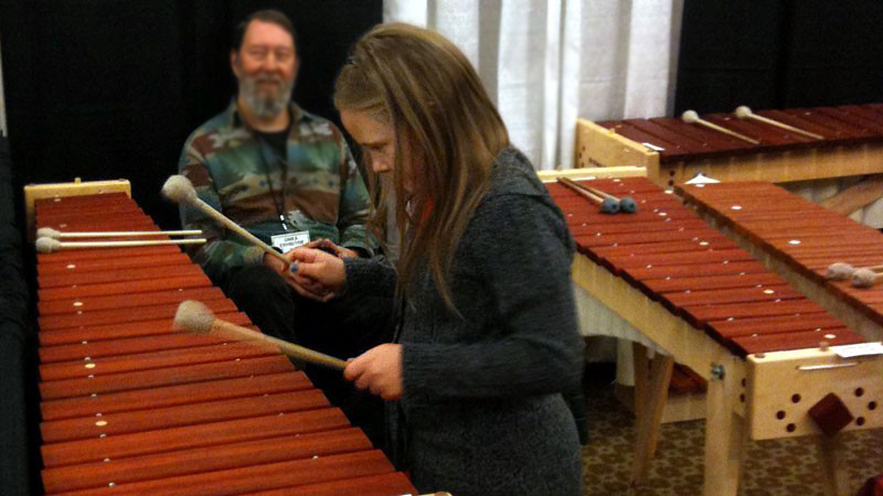 Learning to play marimba is such a joy on instruments of this quality.